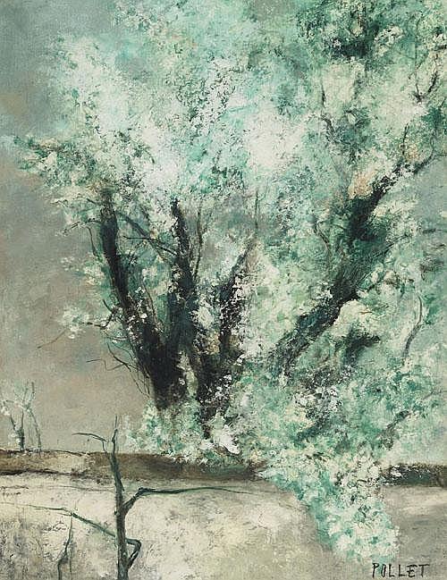 Jean Pollet (1929- ), French L'ARBE EN FLEURS,