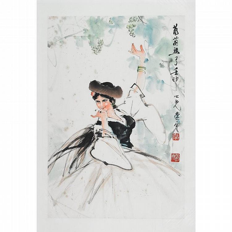 Yang Zhiguang (1930-    ), DANCER