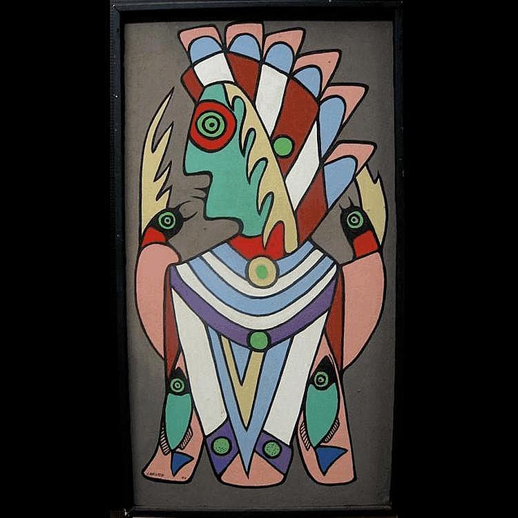 JOHN ERIC LAFORD (NATIVE CANADIAN, 1954-) SPIRIT