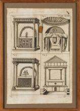 QUATTRO INCISIONI, XVII-XVIII SECOLO