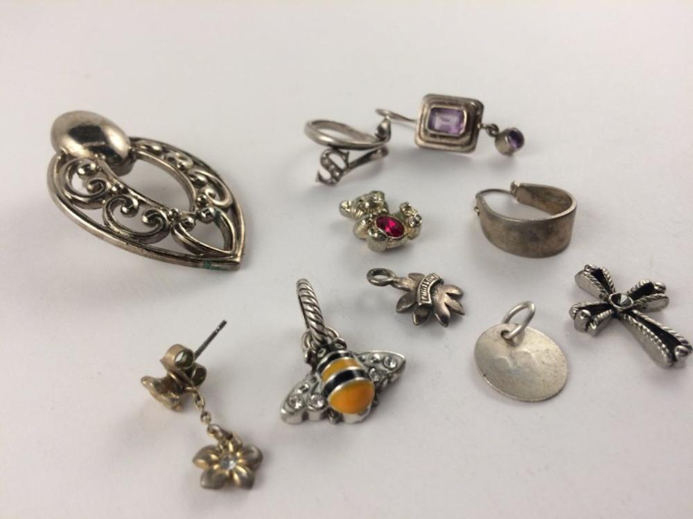 Municipal Lot 10 PC Mixed Jewelry