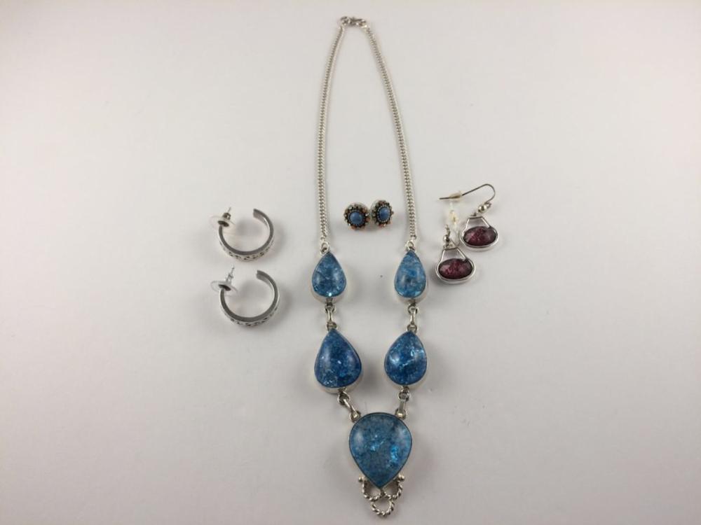 Municipal Lot 4PC Mixed Jewelry