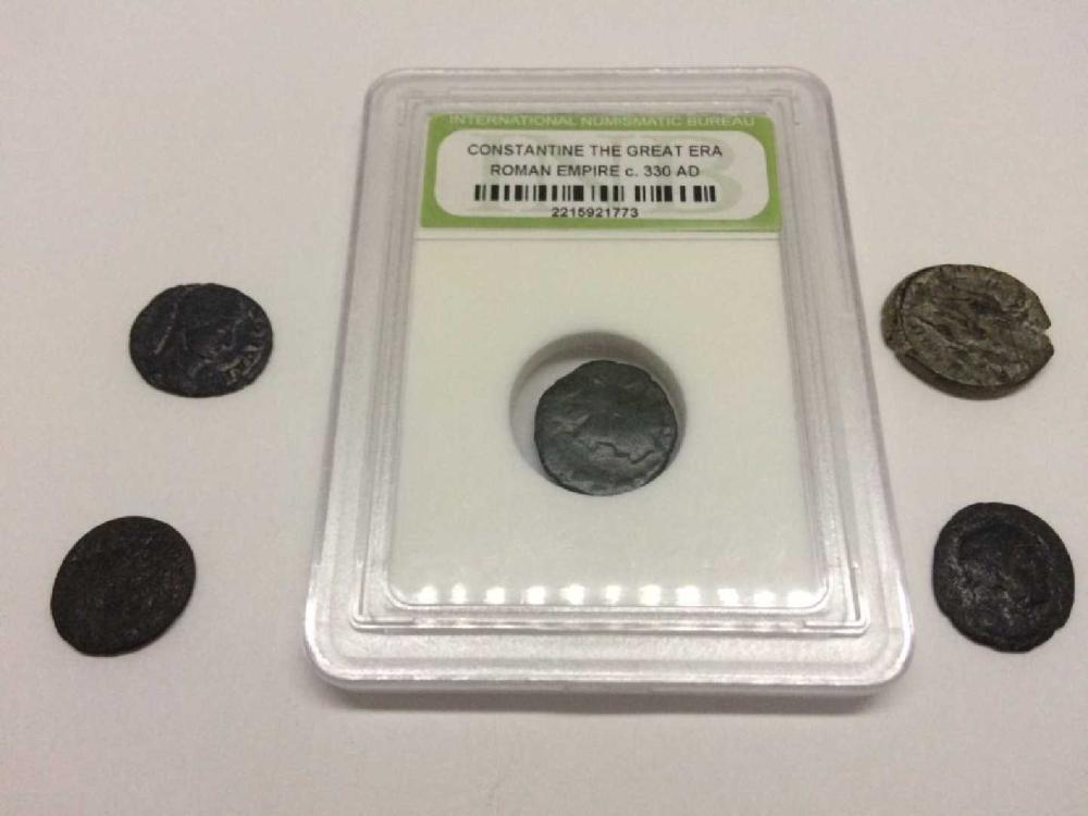 Municipal Lot 5PC Ancient coins