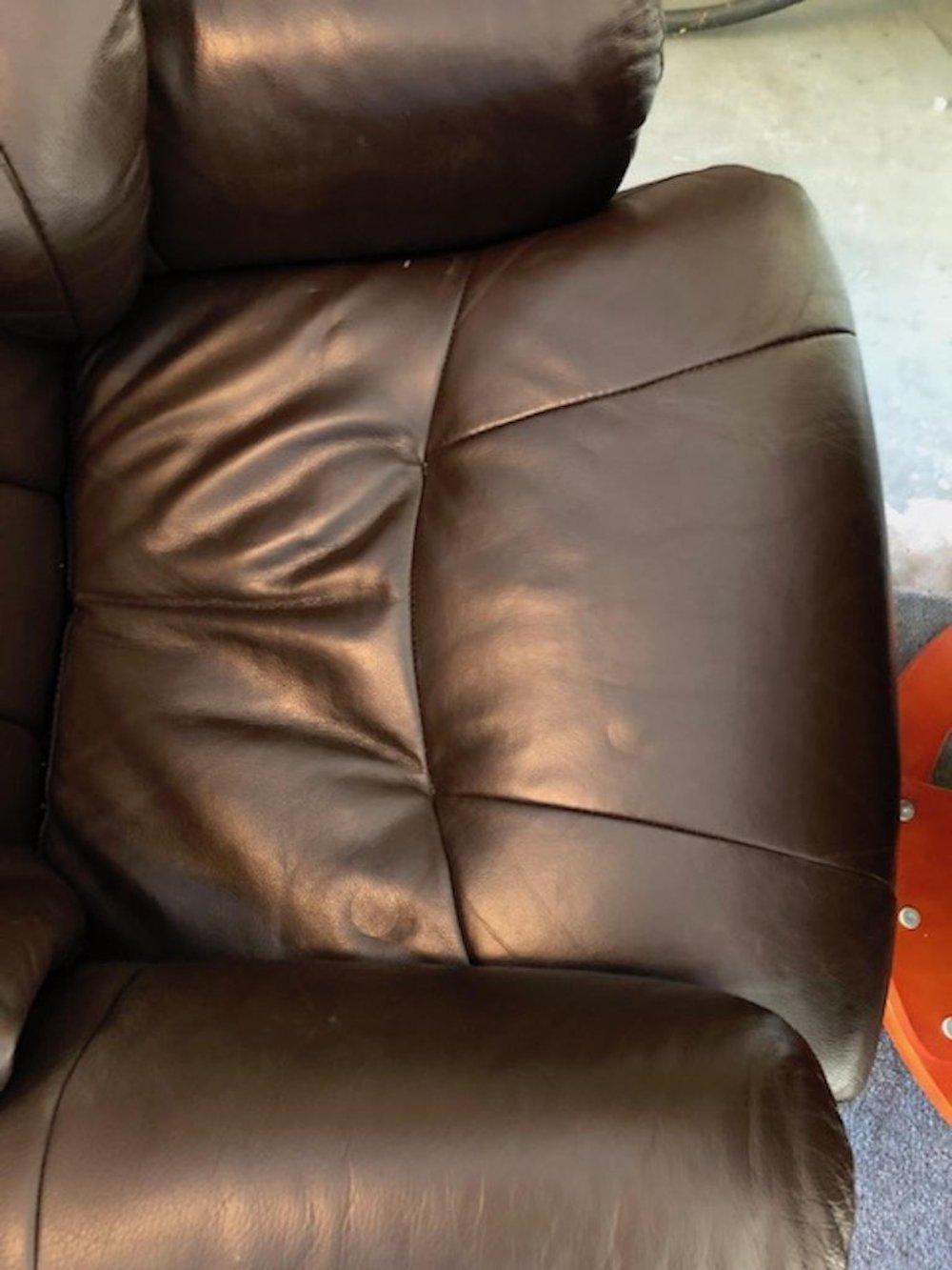 Amazing Modernist Scandinavian Leather Swivel Chair With Ottoman B Ibusinesslaw Wood Chair Design Ideas Ibusinesslaworg