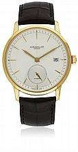 A GENTLEMAN'S 18K SOLID ROSE GOLD ALFRED DUNHILL
