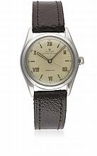 A RARE GENTLEMAN'S STAINLESS STEEL ROLEX OYSTER AIR KING PRECISION WRIST WATCH