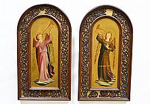 A Pair of Early Renaissance Style Paintings