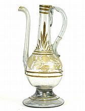 A Venetian Glass Oil Lamp Filler