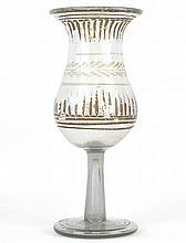 A Venetian Glass Goblet