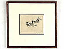 William Joseph Schaldach (1896-1982), Leaping Fish