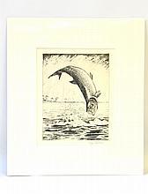 William J. Schaldach (1896-1982), Leaping Tarpon