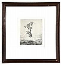 William J. Schaldach (1896-1982), Leaping Quaniche