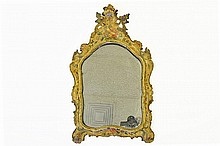 Early 19th Century Venetian Lacca Povera Mirror