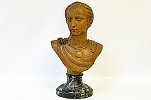 An 18th Century Italian Bust of Caesar, Roman
