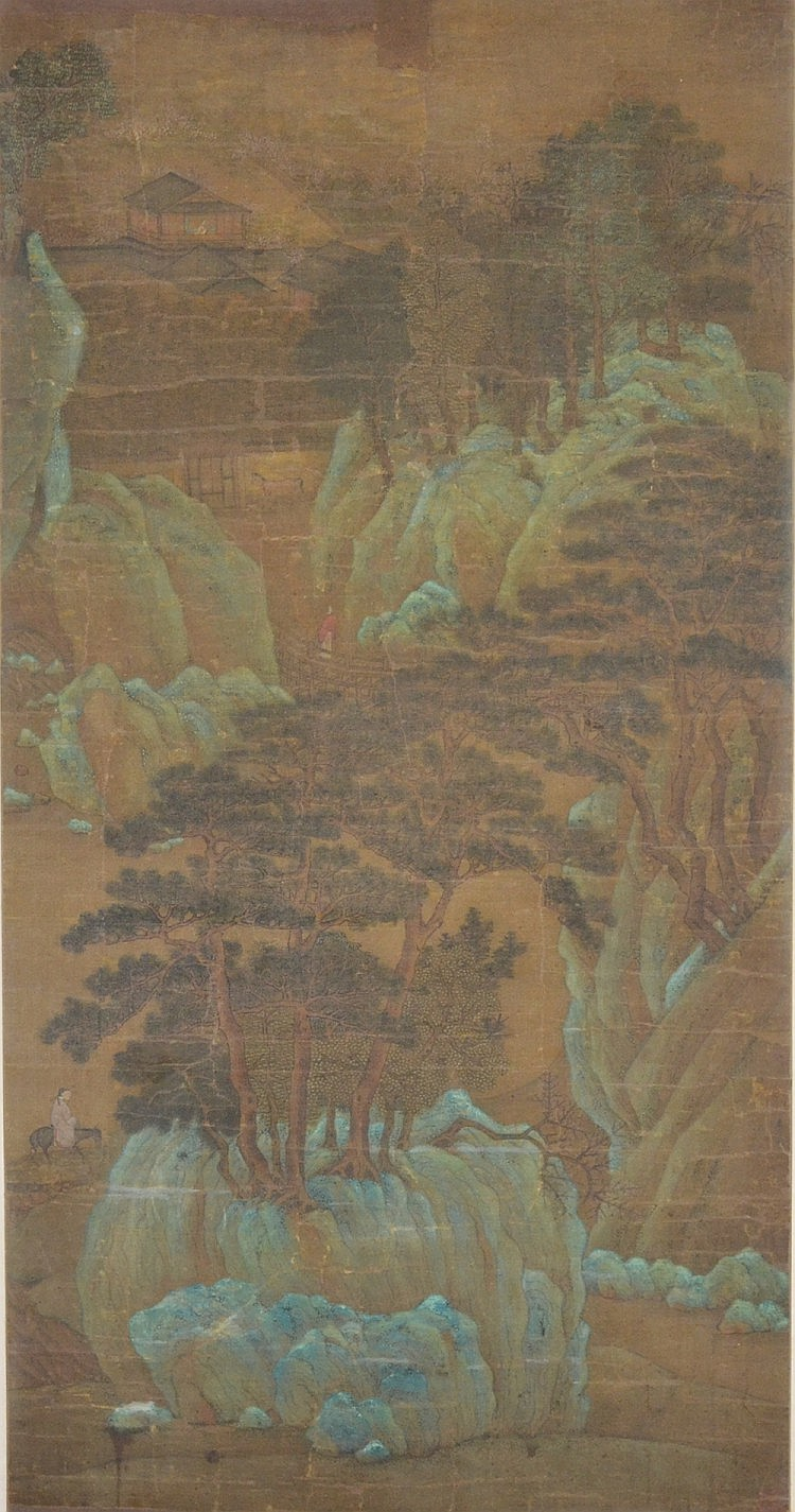 A Chinese Landscape Painting Signed Li Cheng