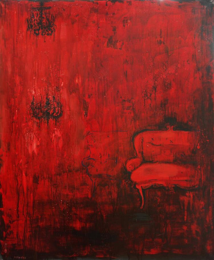 The Red Room by Silviya Radeva
