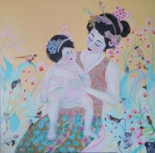 Mother with Child by Sofia Battisti