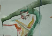 Clown's Break by Anastasia Kurakina