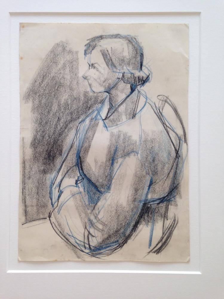 Seated Woman by Pamela Spencer, niece of Sir Stanley Spencer