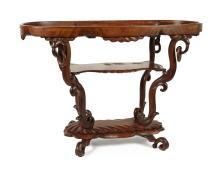 An Early 20th Century Trolley Table