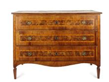 A Late-18th Century Commode of Three Drawers