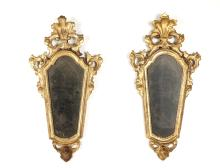 A Pair of Venetian Side Mirrors