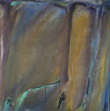 Olivier Debré (1920-1999), Geiranger brun 1971