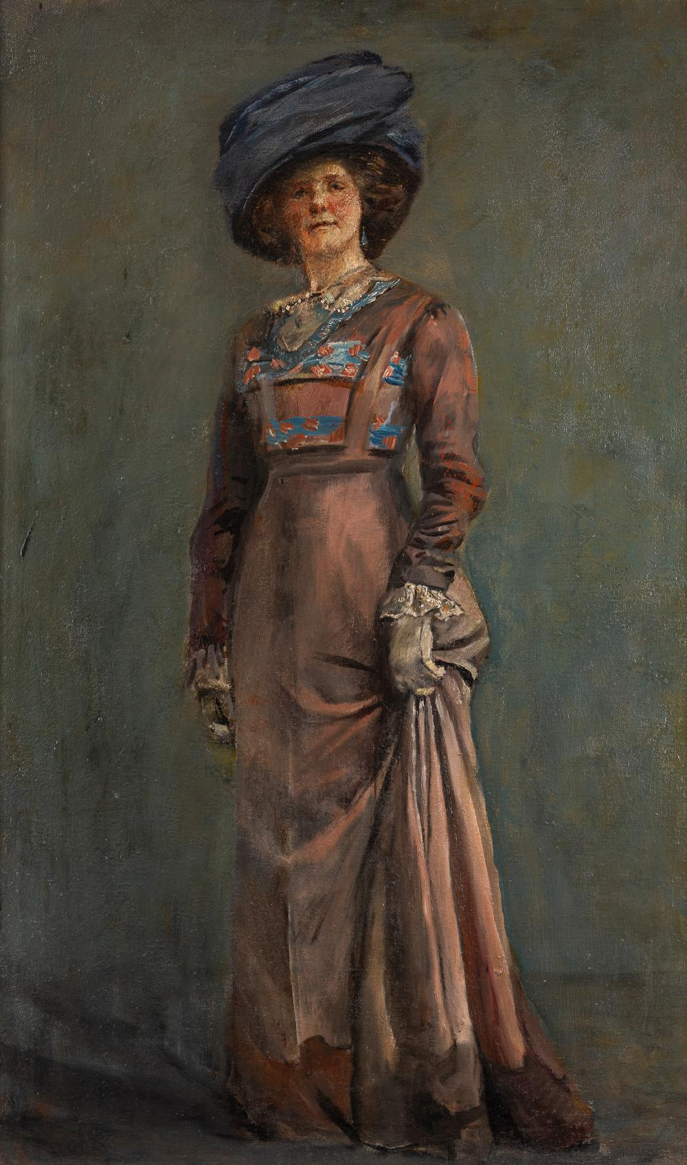 Christian Krohg (1852-1925), Bokken Lasson