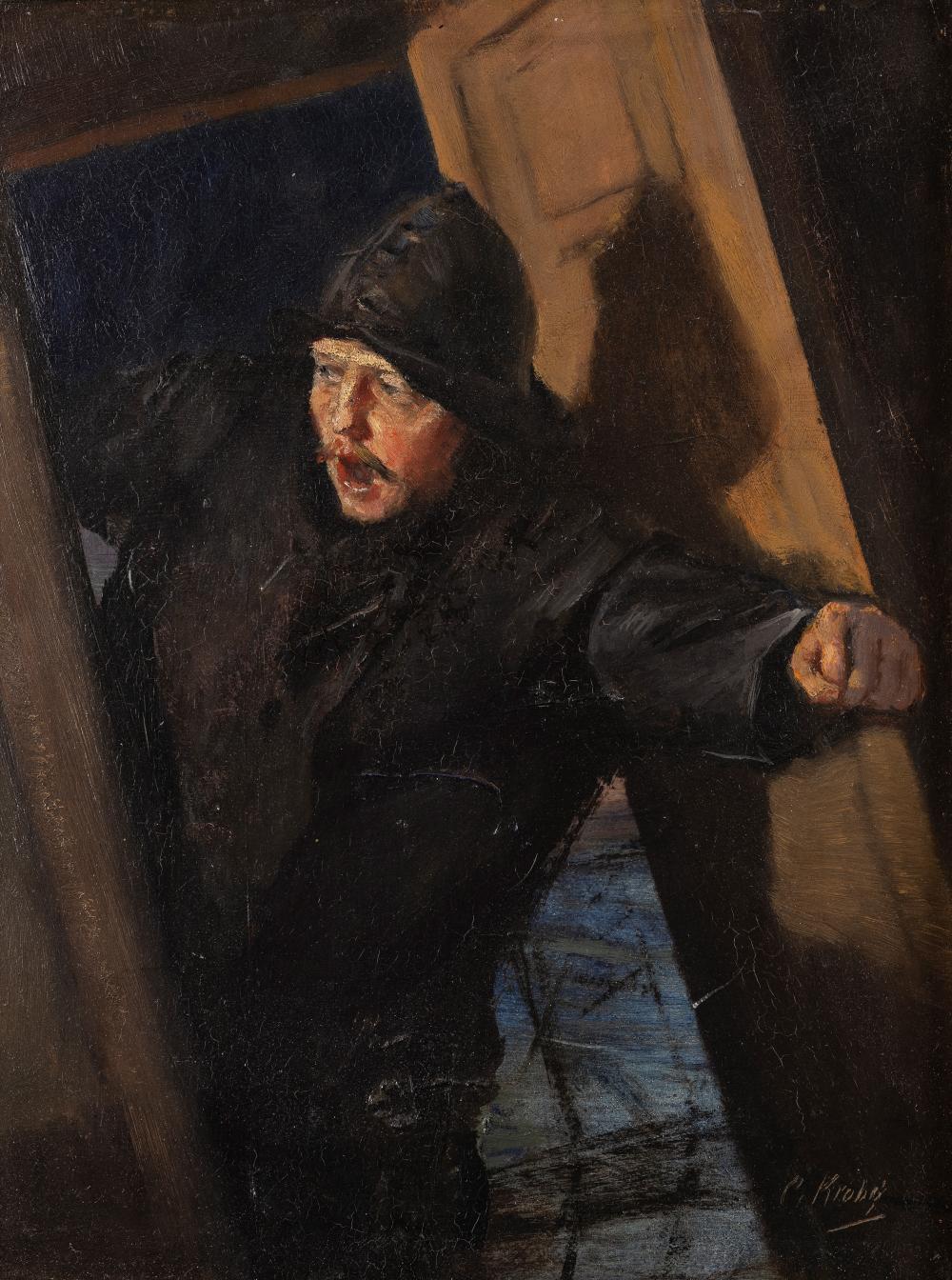 Christian Krohg (1852-1925), The Pilot