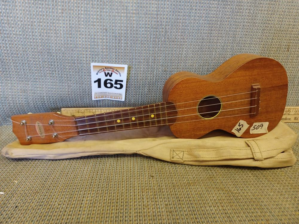 Small Wooden Guitar