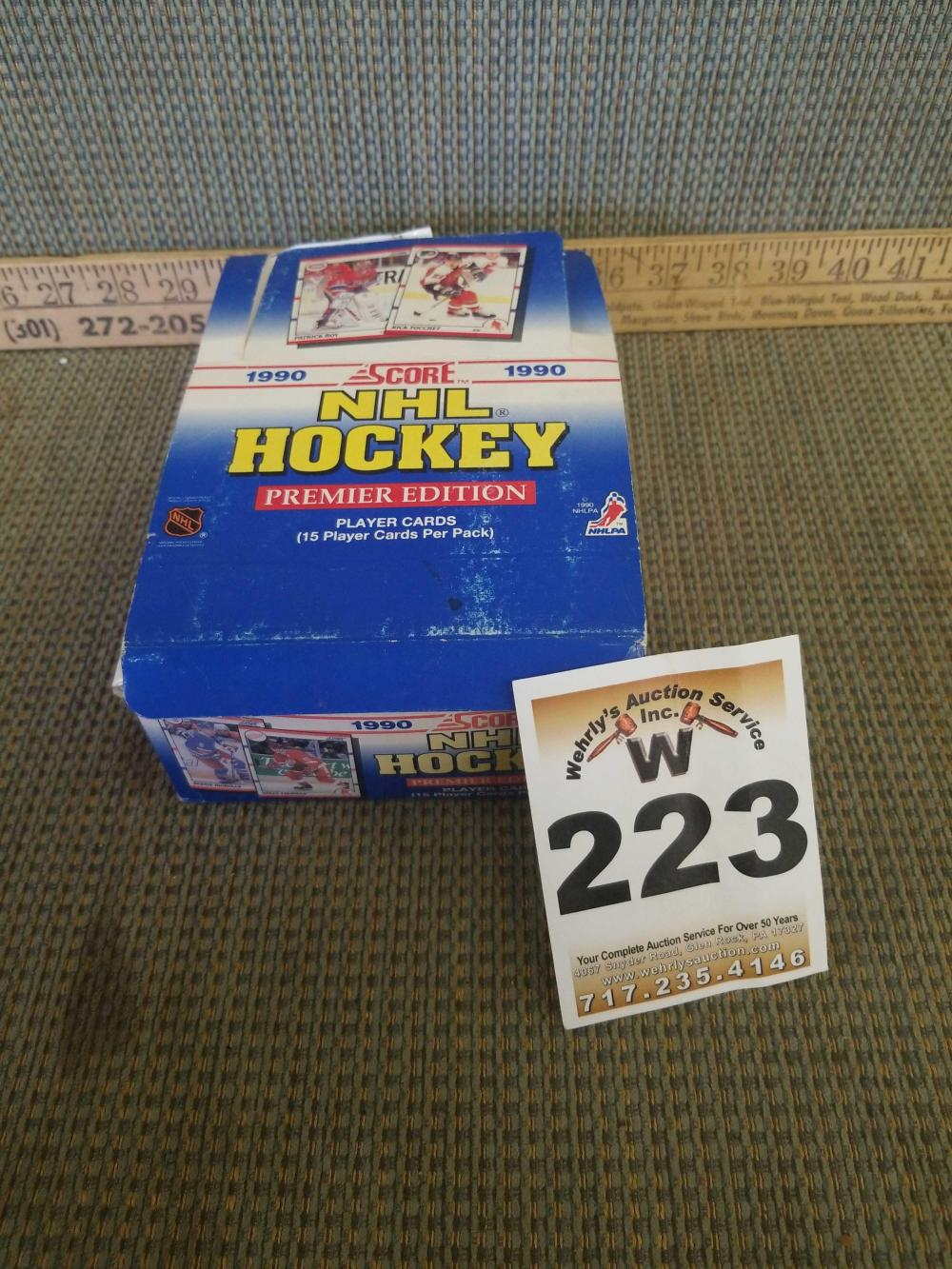 2 Boxes Hockey Trading Cards