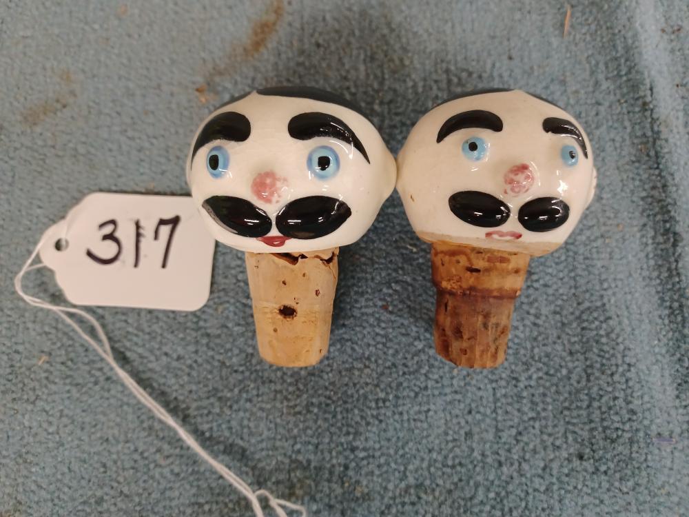 2 Phaltzgraff Stoppers