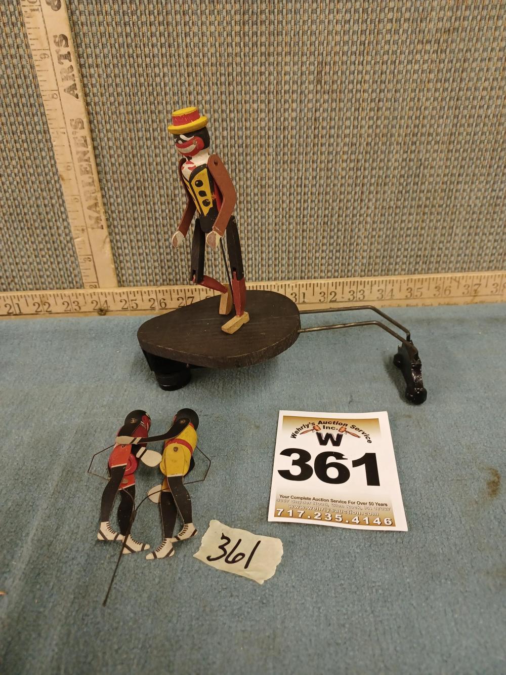 Black Americana Jig Dancer Toy