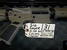 Sig Sauer M-400 Patrol Rifle 5.56 Nato Semi 1 clip 20C008532 Reg. Req.