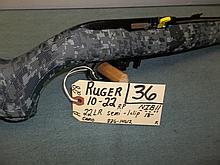 Ruger 10-22 22 LR, Semi Camo, 1 Clip, 826-14612 Reg. Req.