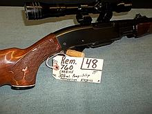 Rem. 760 Carbine 308 Cal.  Pump, 1 clip,B7420155 Reg. Req.