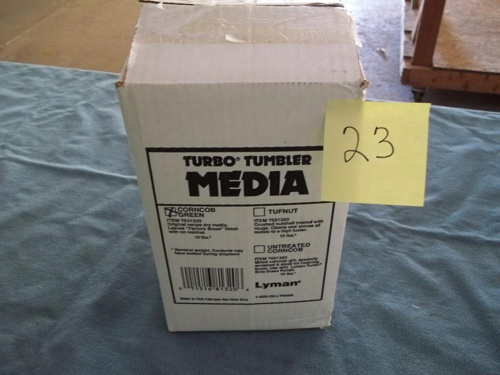 Turbo Media Tumbler