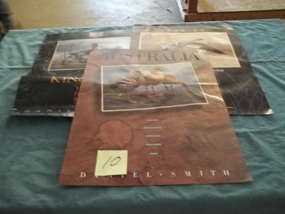 3 Lots: Posters, Daniel Smith
