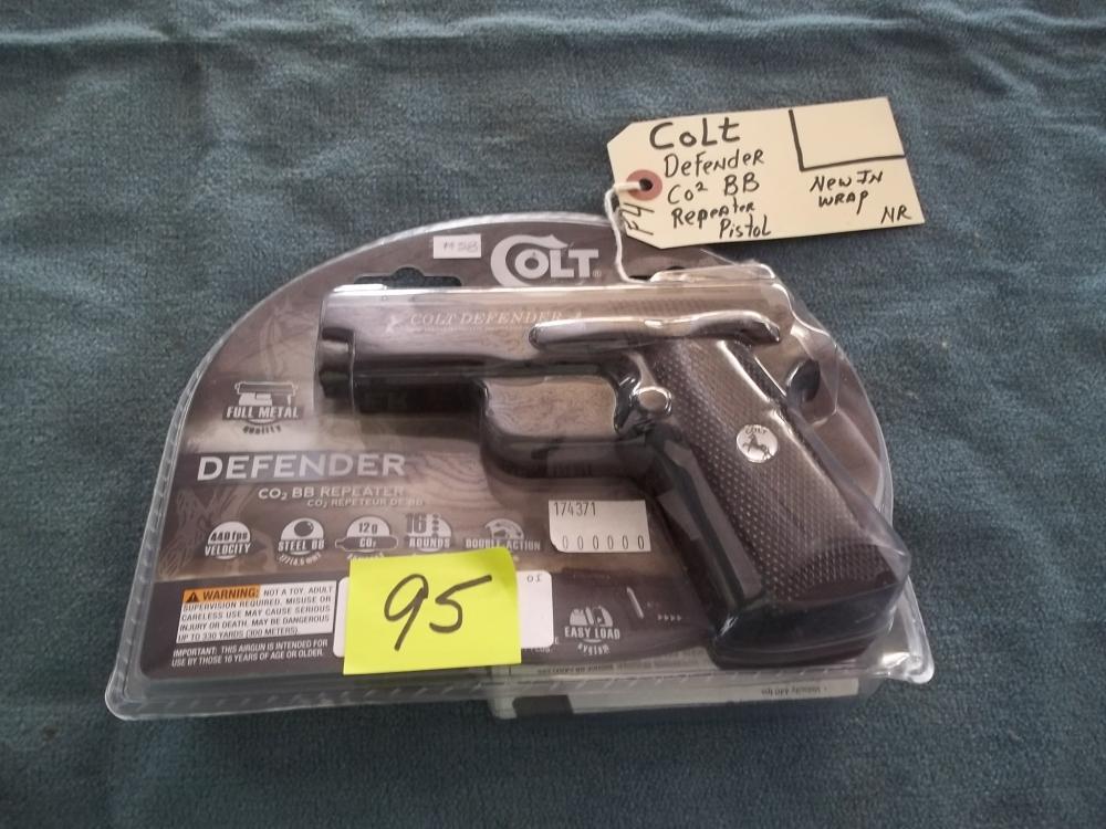 Colt Defender CO2 BB Repeater Pistol No Reg. Req.
