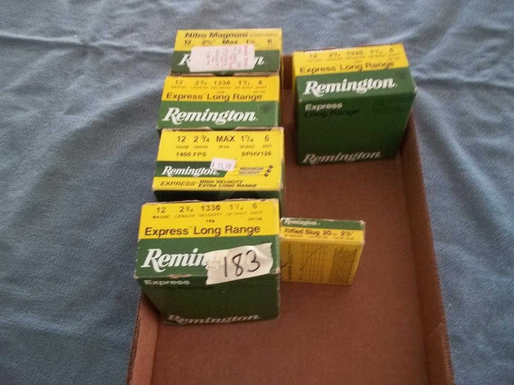 125+ Rds. Remington 12 Ga. Ammo