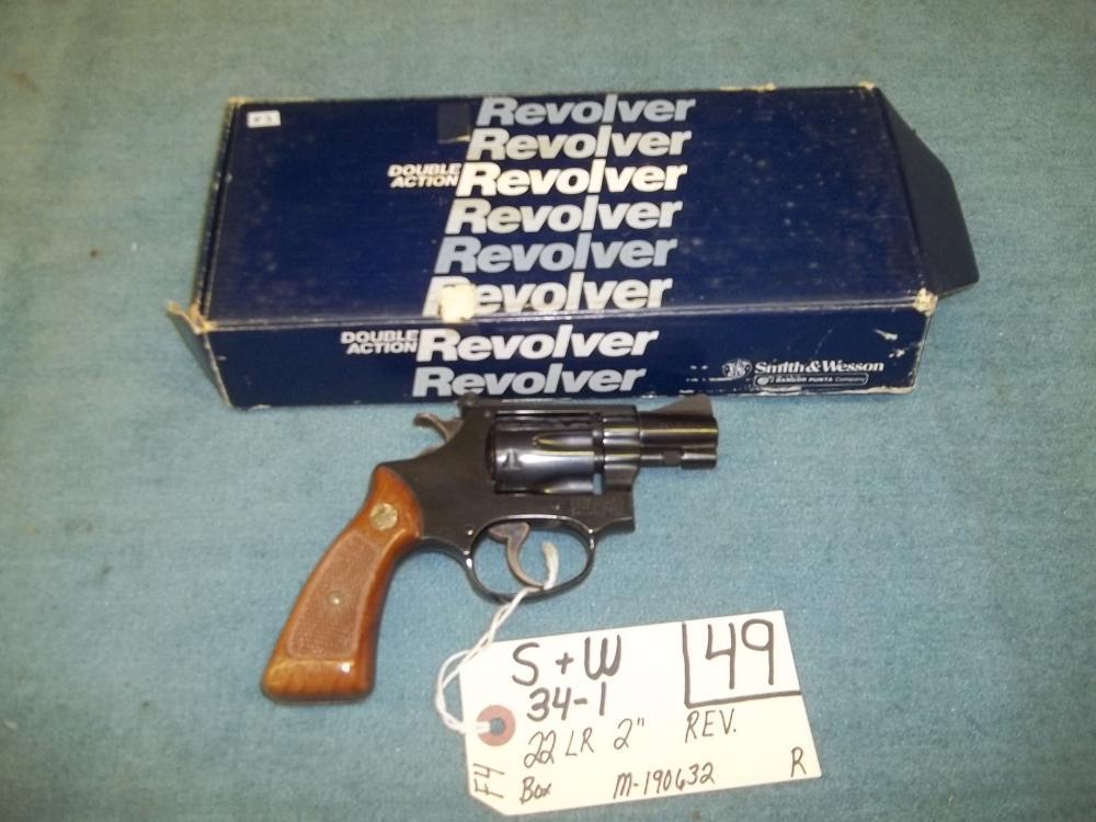 S&W 34-1, 22 LR, M-190632 Reg. Req