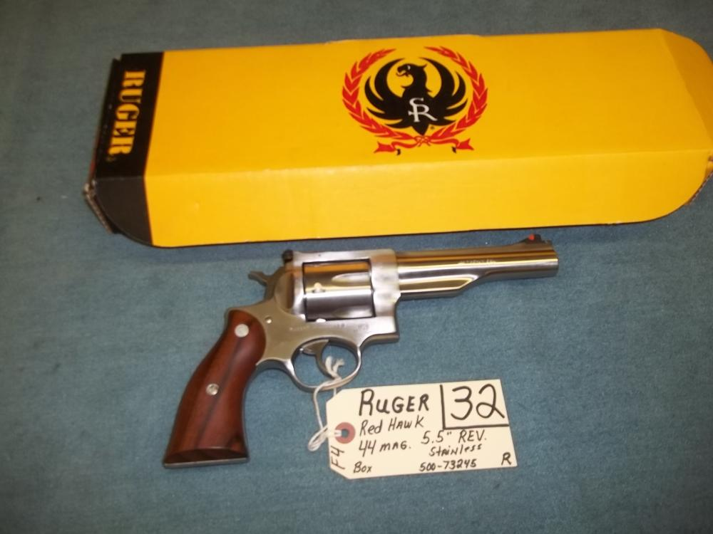 Ruger Red Hawk 44 Mag. SS, 500-73245 Reg. Req.