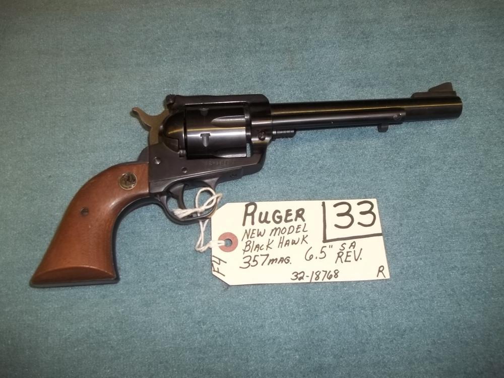 Ruger New Model Black Hawk 357 Mag. 32-18768 Reg. Req.