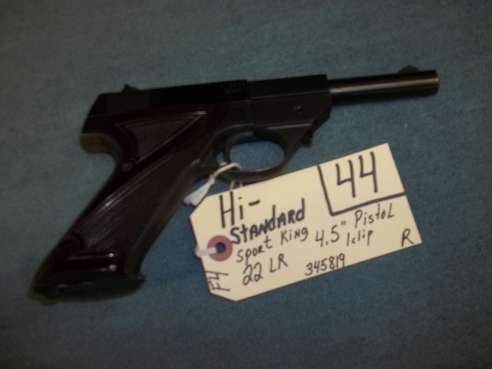 Hi Standard Sport King, 22 LR, 1 clip, 345819 Reg. Req.