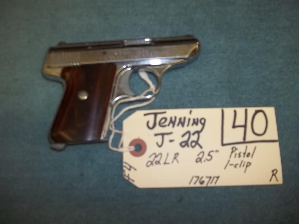 Jenning J-22, 22 LR, 1 clip 176717 Reg. Req.