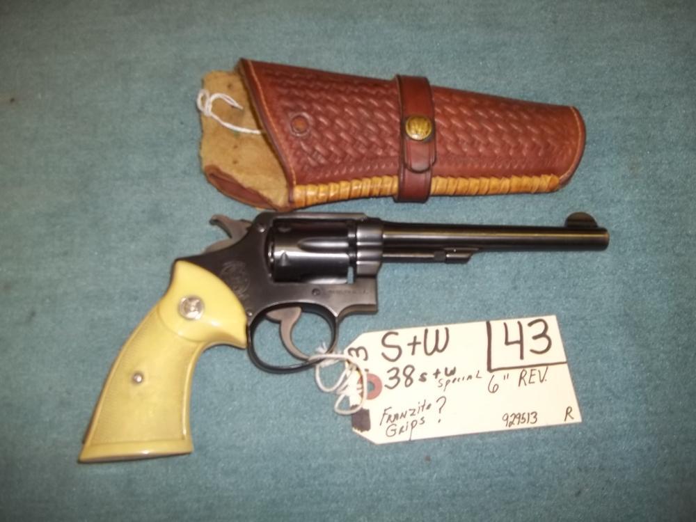 S&W, 38S&W Special 929513 Reg. Req.