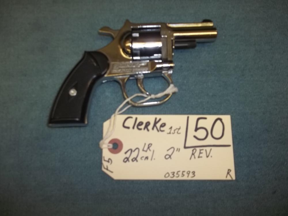 Clerk 1st. 22 Cal. LR 035593 Reg. Req.