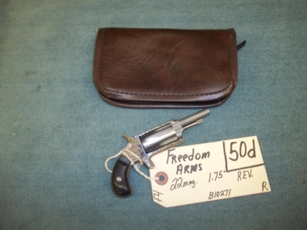 Freedom Arms 22 Mag. B10271 Reg. Req.