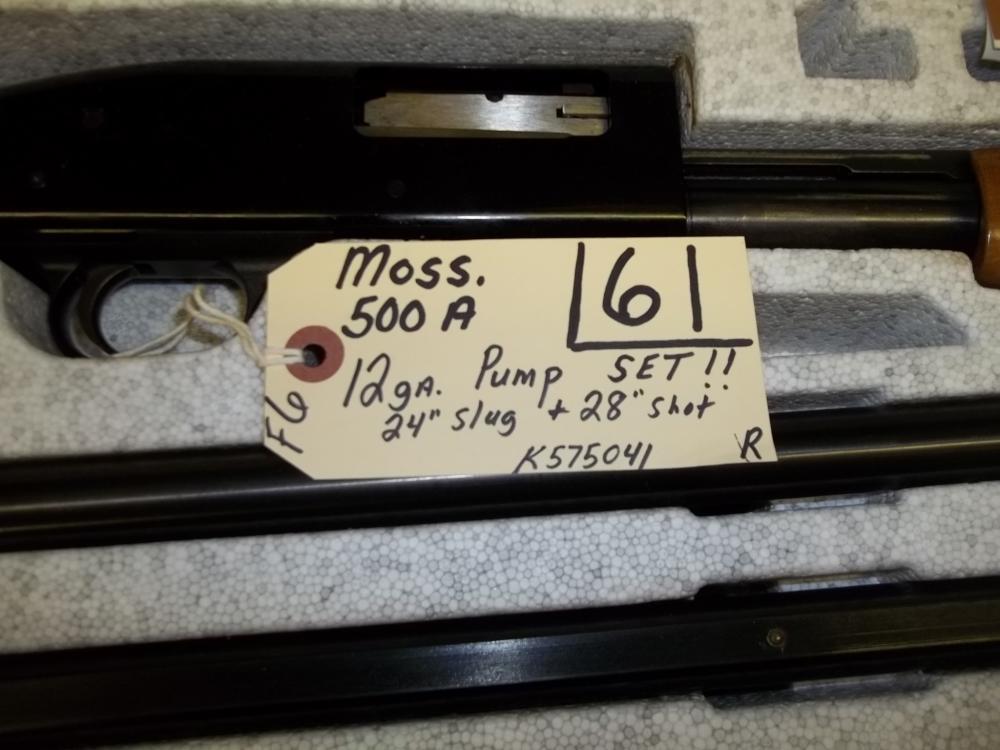 Moss 500A, 12 Ga. Pump, K575041 Reg. Req.
