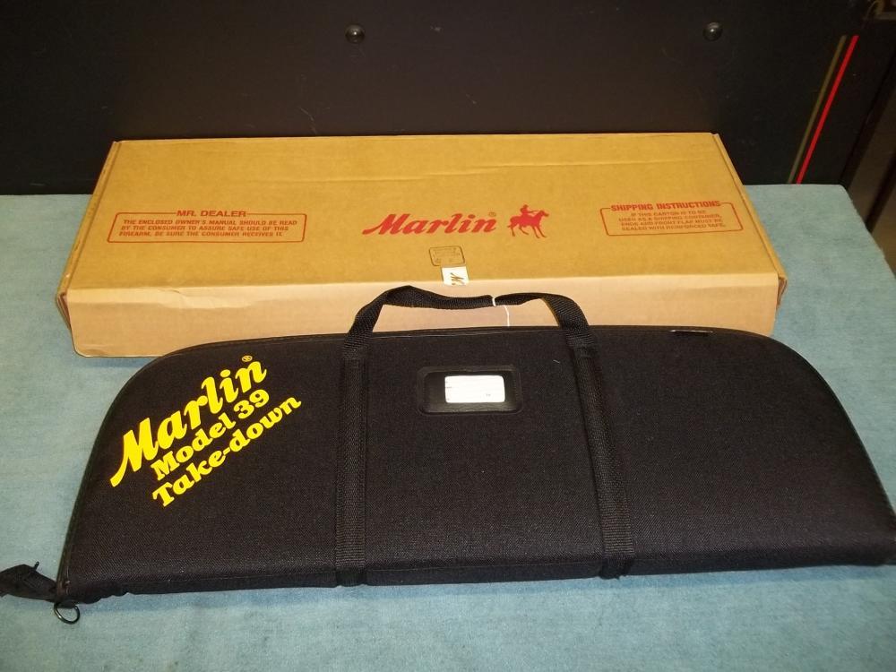 Marlin 39 Take Down 22 Cal. TO500059 Reg. Req.